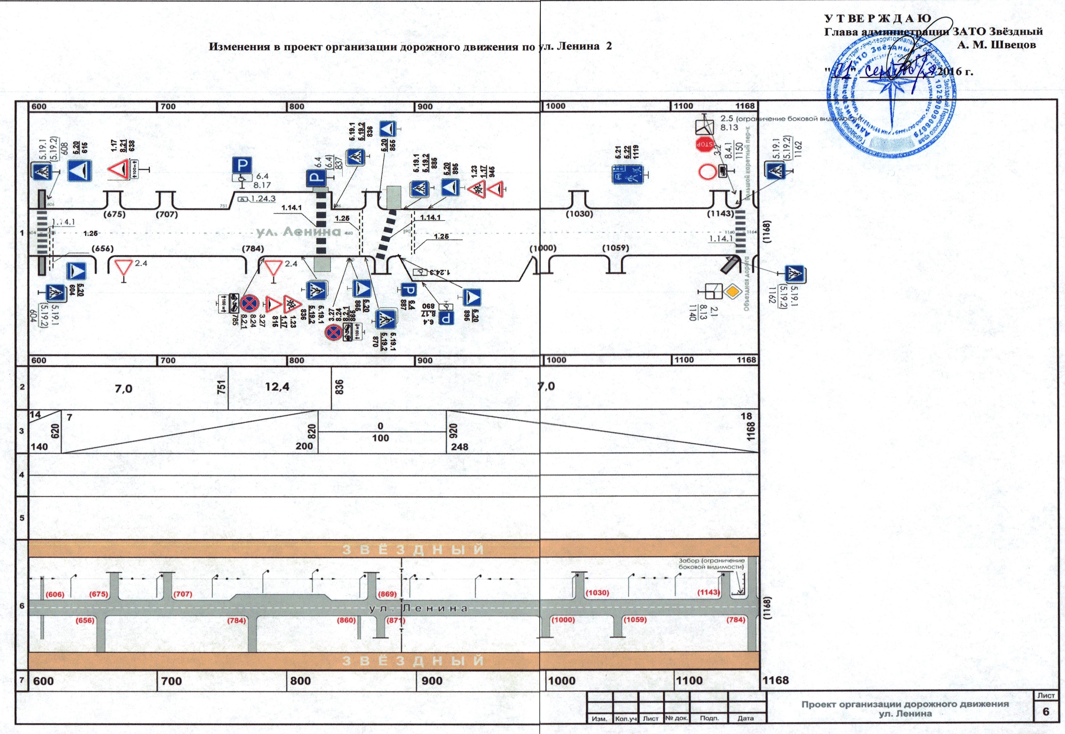 схема производства дорожного движения при производстве